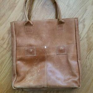 Magnolia Distressed Leather Tote